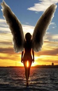 Angel Walking on Water