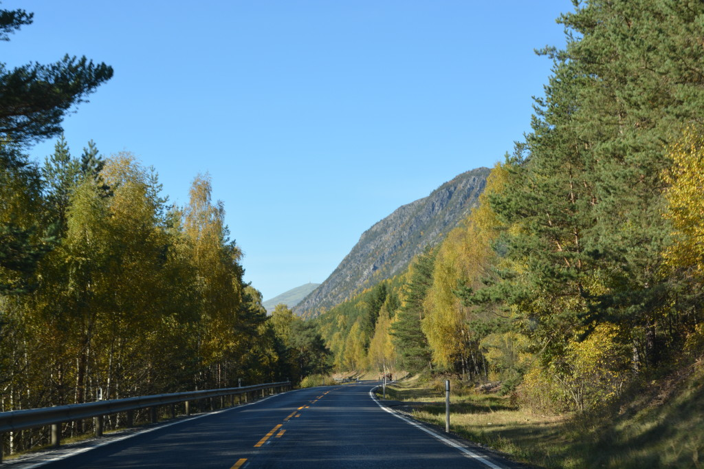 On the Road to Molde, Norway