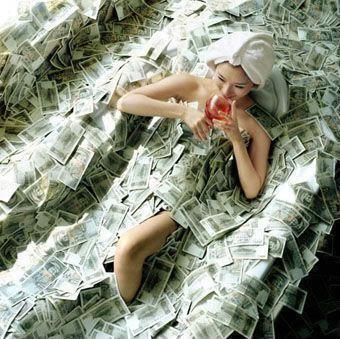 Bathtub of Money