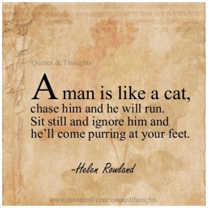 Man is like a Cat