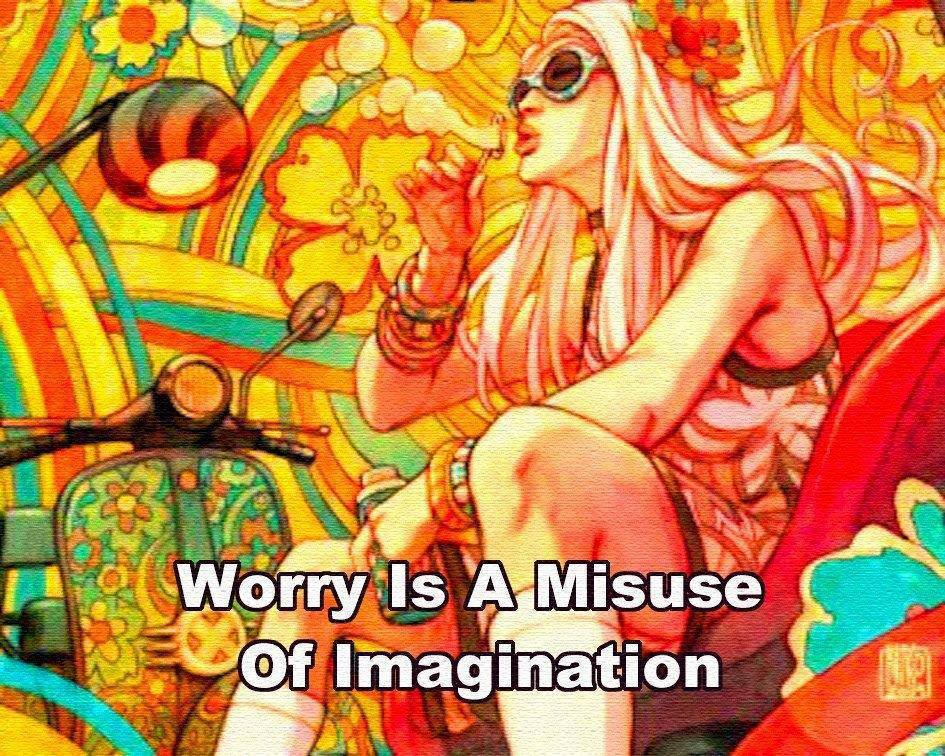 Worry Misuse Iimagination