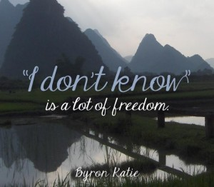 I Don't Know...Freedom
