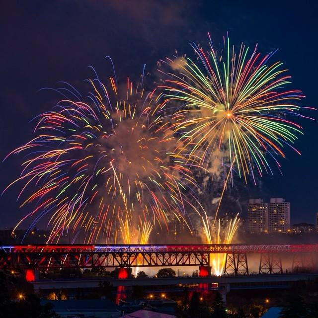 Edmonton on Canada Day 2014