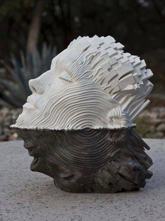 RAIN Sculpture by Gil Bruvel .