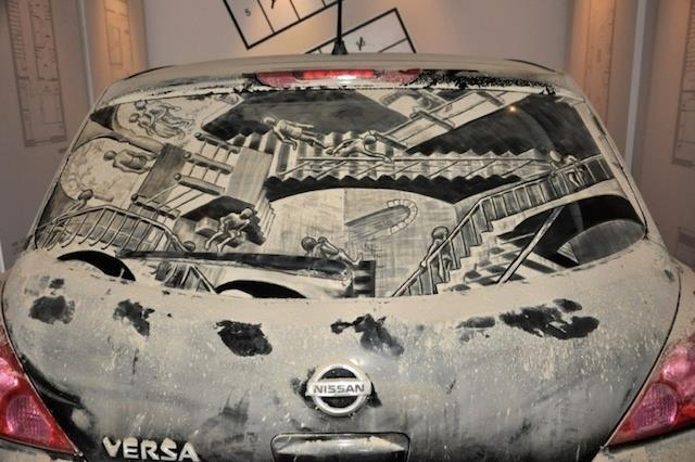 Dirty Car Art by Scott Wade