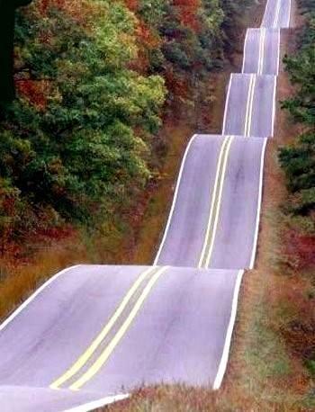 Roller Coaster Highway, Tulsa Oklahoma